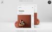 简洁风家居画册杂志模板FREDONIA Home Decor Catalog(1)