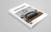 北欧风家居画册模板素材画册模板下载Simple Magazine Template