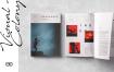 音乐派对杂志画册模板素材样机画册Magazine
