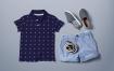 Polo T恤 男生版样机模板展示场景样机  夏季服装Polo T-shirt Mock up Boys Version
