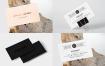 高端商务卡片 ,名片场景样机模板展示效果图4 Business Card Mock Up Vol 02