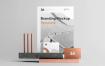 高端商业商务房地产别墅VI提案样机展示Copperstone Branding Mockup Vol 2 Wydqx9 2019 02 06