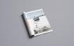 企业画册介绍模板展示样机素材  模板素材A4 Brochure Mockup
