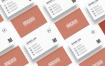 创意名片模板素材Minimal Creative Business Card Template