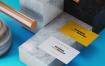 高端名片展示场景样机模板  素材样机Business Card Mock Up Template