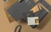 精致高端品牌模板素材样机展示下载3 Envelope Mockups