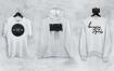长袖运动衫多款式素材模板下载T Shirt Sweatshirt Hoodie Mockup Set