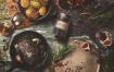 厨房美食西餐料理品牌识别系统VIS模板素材下载Kitchen Ready Mockup Vol. 4