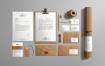 工艺品牌样机牛皮纸系列品牌样机素材模板展示下载Craft Branding Mockup