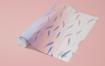墙纸壁纸滚动PSD样机素材智能贴图psdWallpaper Rolled PSD Mockups 01
