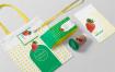 果蔬类品牌包装样机  场景样机Packaging Mockup Scene