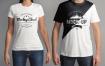 圆领T恤模板素材男女模特样机素材下载T Shirt Mockup Set 28ueuz