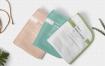 优雅手毛巾样机智能贴图样机Beautiful Hand Towel Mockup