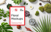 高品品牌办公品牌平面VI样机 Floral Mockups Stationery