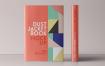 防尘夹克书样机Dust Jacket Book Mockup Vol4