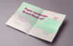 A4海报模板素材样机下载A4 Paper Mock Up