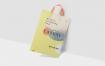 购物手提袋样机模板场景展示样机Plastic Shopping Bag Mockups