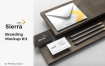 (精品)经典配色高端专业逼真质感的房地产VI品牌sierra branding mockup vol 2