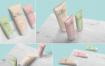 精品多角度化妆品样机模板展示样机Tube Packaging Mockups