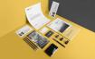 精致企业视觉识别系统模板展示样机素材Stationery Branding Mockup Vol 2