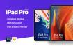 平板电脑素材模板样机展示效果iPad Pro 2018 Mockup Extl25
