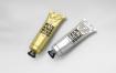 油画燃料挤压管样机模板展示 智能贴图样机Metal Squeeze Tubes Packaging Mockup