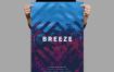 微风海报/传单素材模板Breeze Poster Flyer