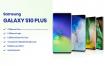 三星手机样机素材模板展示Samsung Galaxy S10 Plus Mockup