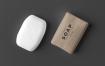 精致药理香皂包装素材样机模板Soap Cube Mock up