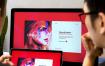 iMAC 屏幕电脑设备场景样机素材模板iMac Screen Display Mock Up Set Vol 08