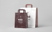 高端素材模板展示样机下载Paper Bag Mock-up 3