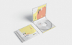 CD唱片包装盒样机模板素材  CD Label & Case Mockups