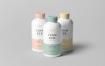 化妆品瓶样机素材展示模板  素材智能贴图样机展示Cosmetic Bottle Mock up 4