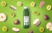 果蔬料理饮料包装样机素材模板Juice Bottle Mockups