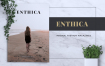 简洁企业产品服装画册模板素材下载ENTHICA Fashion Magazine