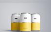 苏打水碳酸饮料罐样机模板Soda Can Mockup(20190630)