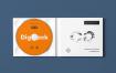 高端精品唱片样机素材模板展示CD Digi Pack Mock up 8