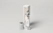 高端化妆品香水包装样机展示  智能贴图psd展示perfume mock up 2