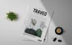 旅游出行类画册杂志模板展示素材Traveo Magazine Template