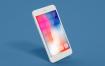 特殊角度创意苹果手机样机模板素材展示iPhone Mockup Multi Layer PSD