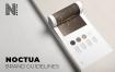 北欧风家居生活杂志画册模板展示素材Noctua Brand Guidelines