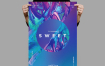 油画笔触色彩肌理风色彩的传单/海报模板Sweet Flyer / Poster Template