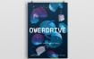 2.5D海报/传单素材模板展示效果图Overdrive Poster Flyer