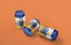 饮料易拉罐类样机模型展示智能贴图样机360 soda can small mockup