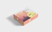 精品扁平盒子包装样机Box Packaging Mockups