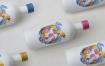 多用途玻璃瓶包装样机模板Multipurpose Bottle Mock Up C5u2brh