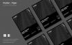 黑白科技粒子海报/素材模板素材SRTP Poster Design 06