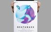 渐变风海报模板展素材海报传单Beatamaxx Poster Flyer