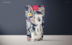 食品糖果自封袋塑料袋样机合集 Stand Up Ziplock Bag Mockup Set
