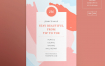 美甲沙龙传单和海报/传单模板Nail Salon Flyer and Poster Template Axedn2